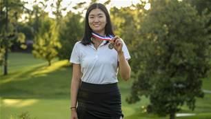 Zhang earns medallist honours at U.S Girls' Junior Championship