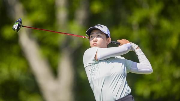 Medallist Zhang rolls into next round at U.S Girls' Junior