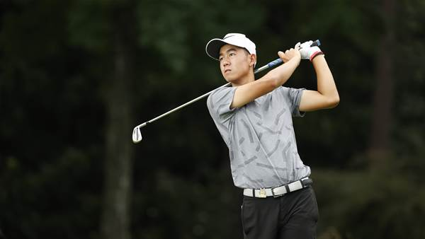 Kelly Chinn's course record sets pace at U.S Junior Amateur