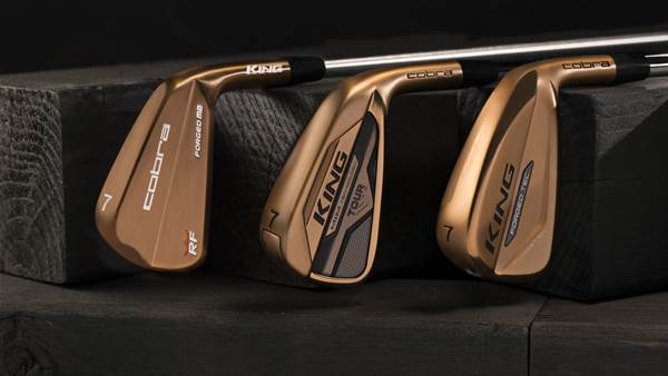 Cobra unveils Copper Irons Series