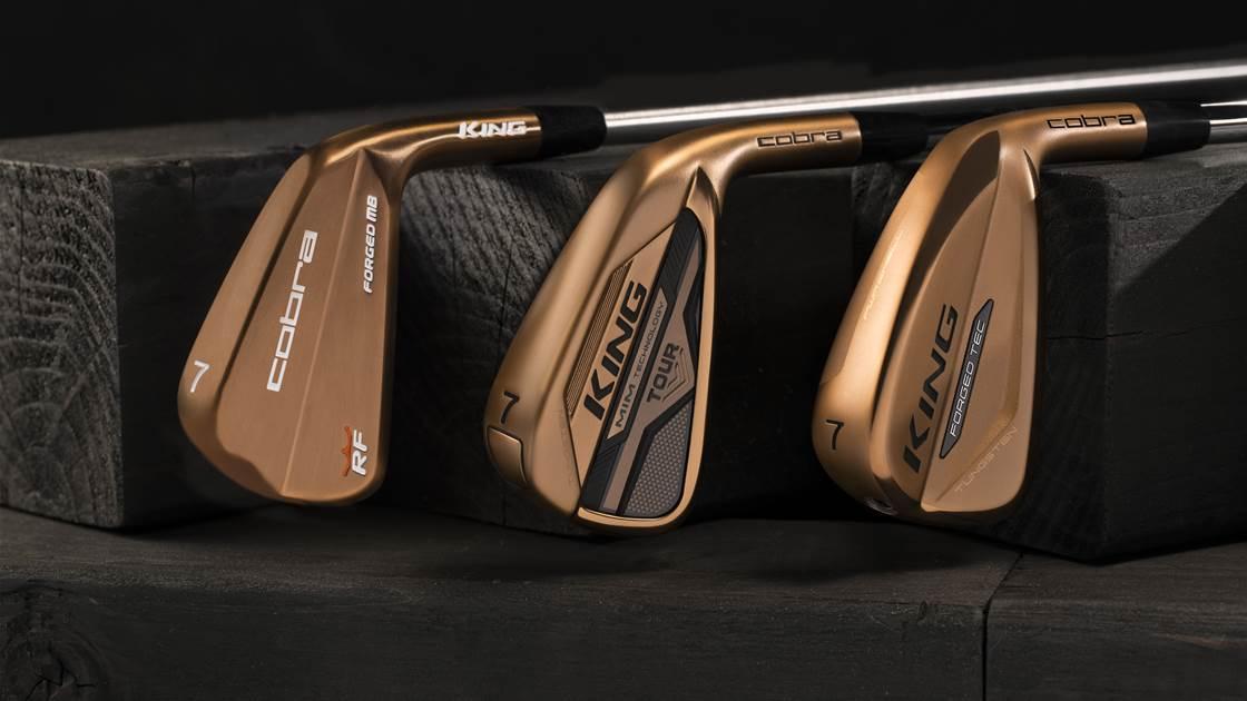 Cobra unveils Copper Irons Series