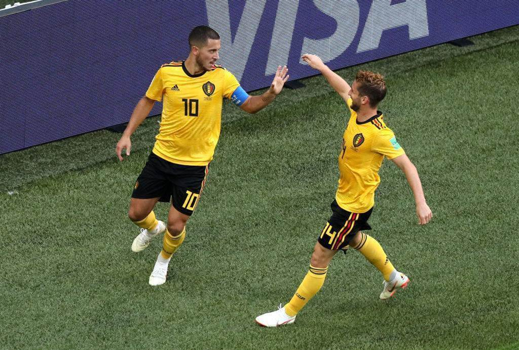 Hazard named man of the match after 2-0 win over England