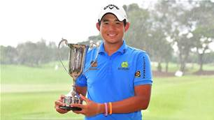 Asian Tour: Pavit seals playoff victory over Aussie Gleeson