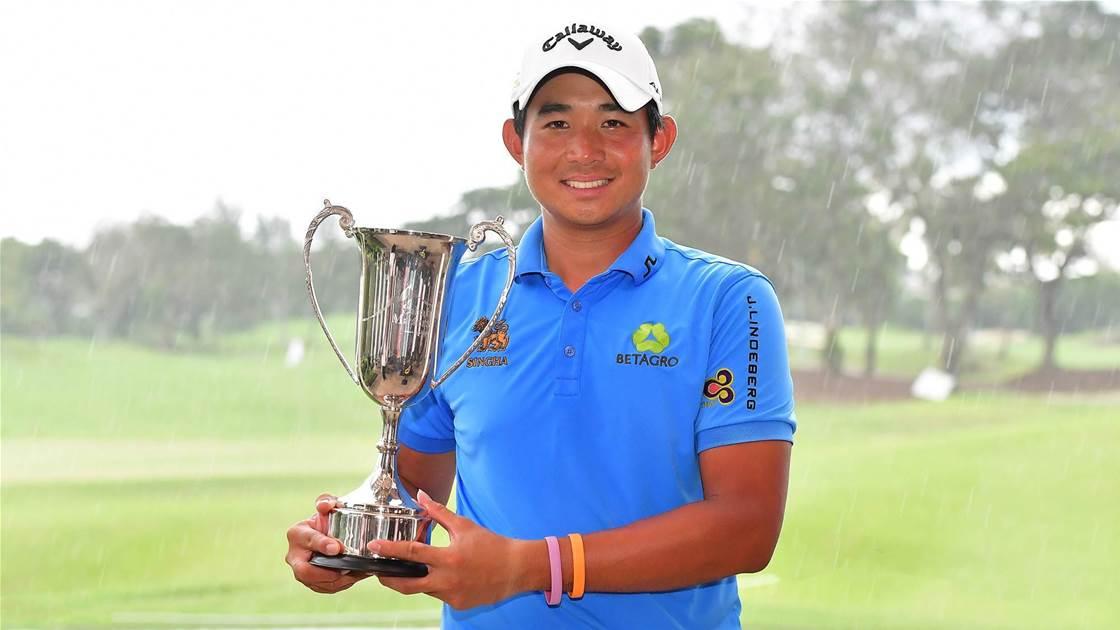 Asian Tour: Pavit seals playoff victory over Aussie Gleeson