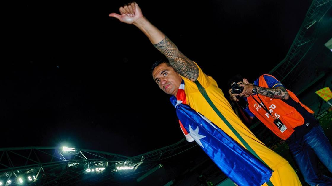 Socceroos send-off for Cahill in Sydney