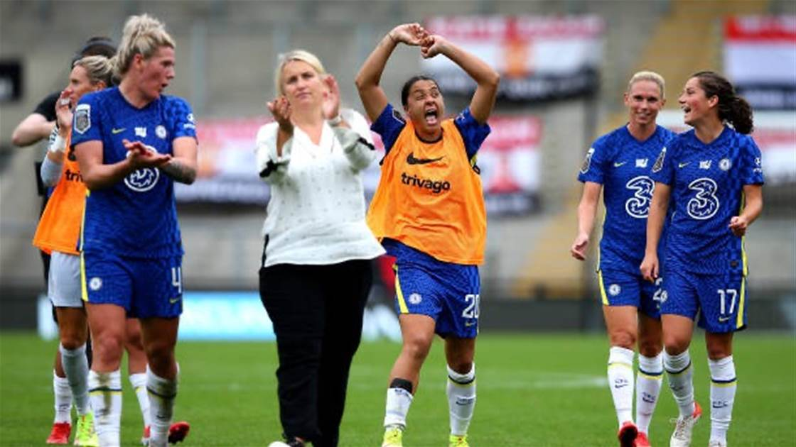 Kerr at the double, Matildas shine in WSL