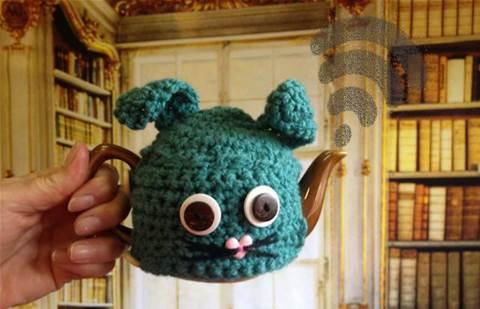 Aussie sweetens Fish Creek's (tea)pot by sponsoring public wi-fi
