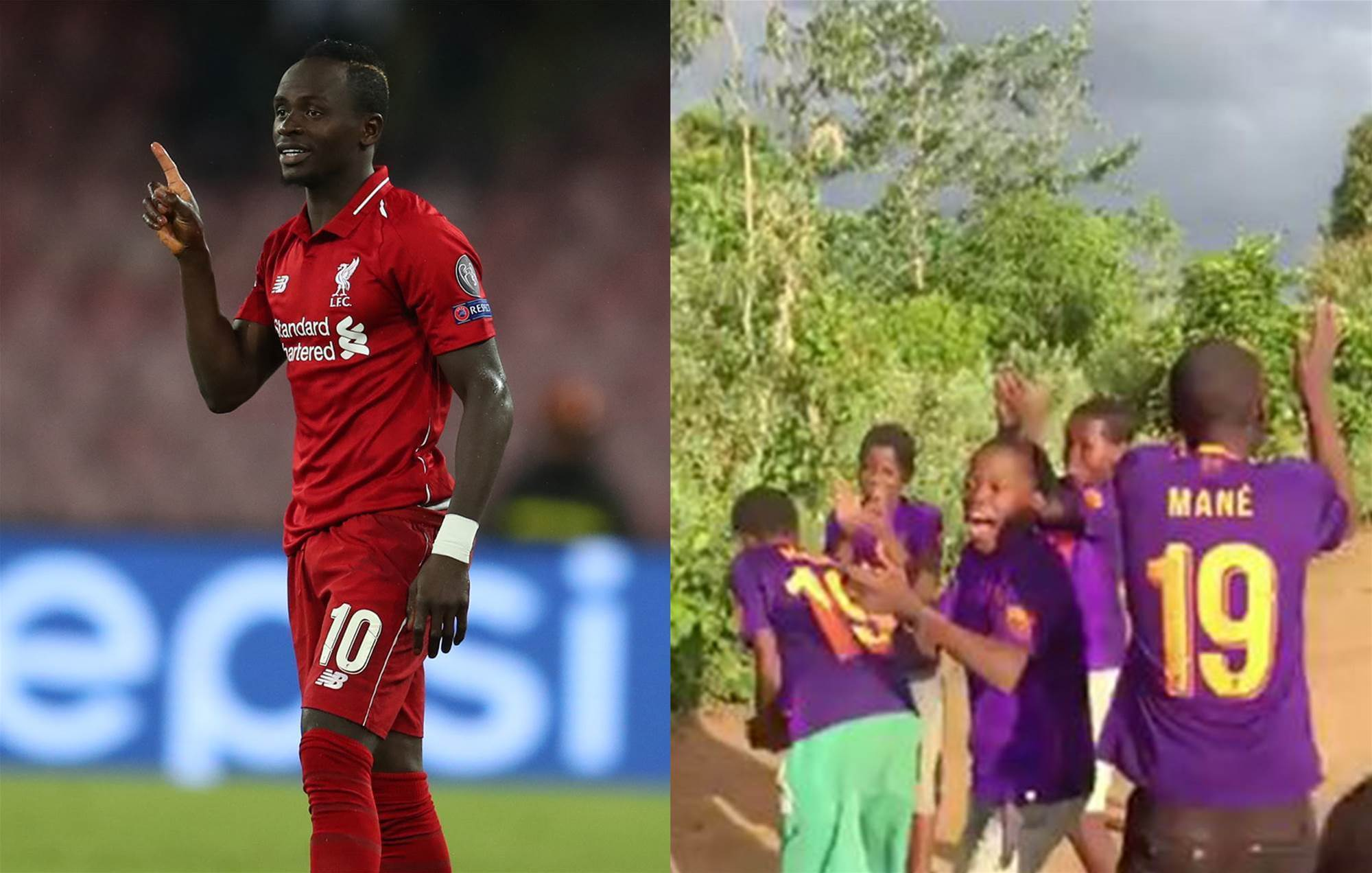 Sadio Mane's incredible act of generosity