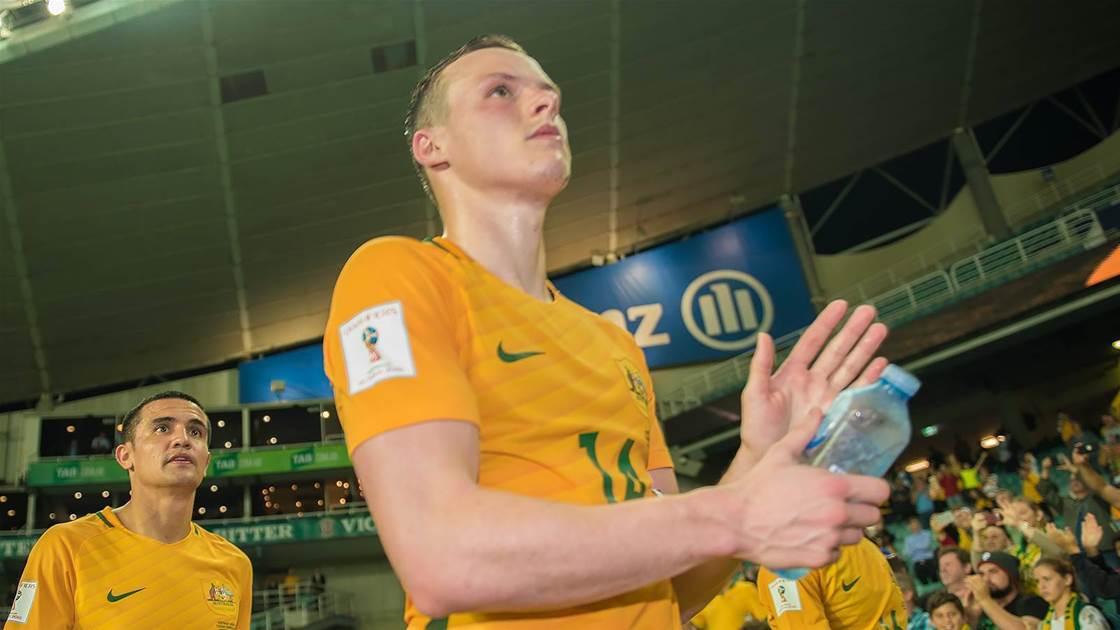 Big week ahead for Socceroo Brad Smith