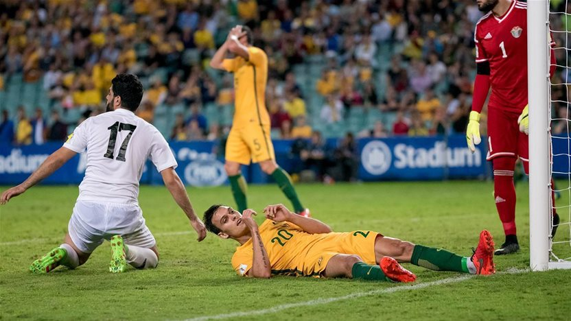 Socceroos aim to end Jordan away blues
