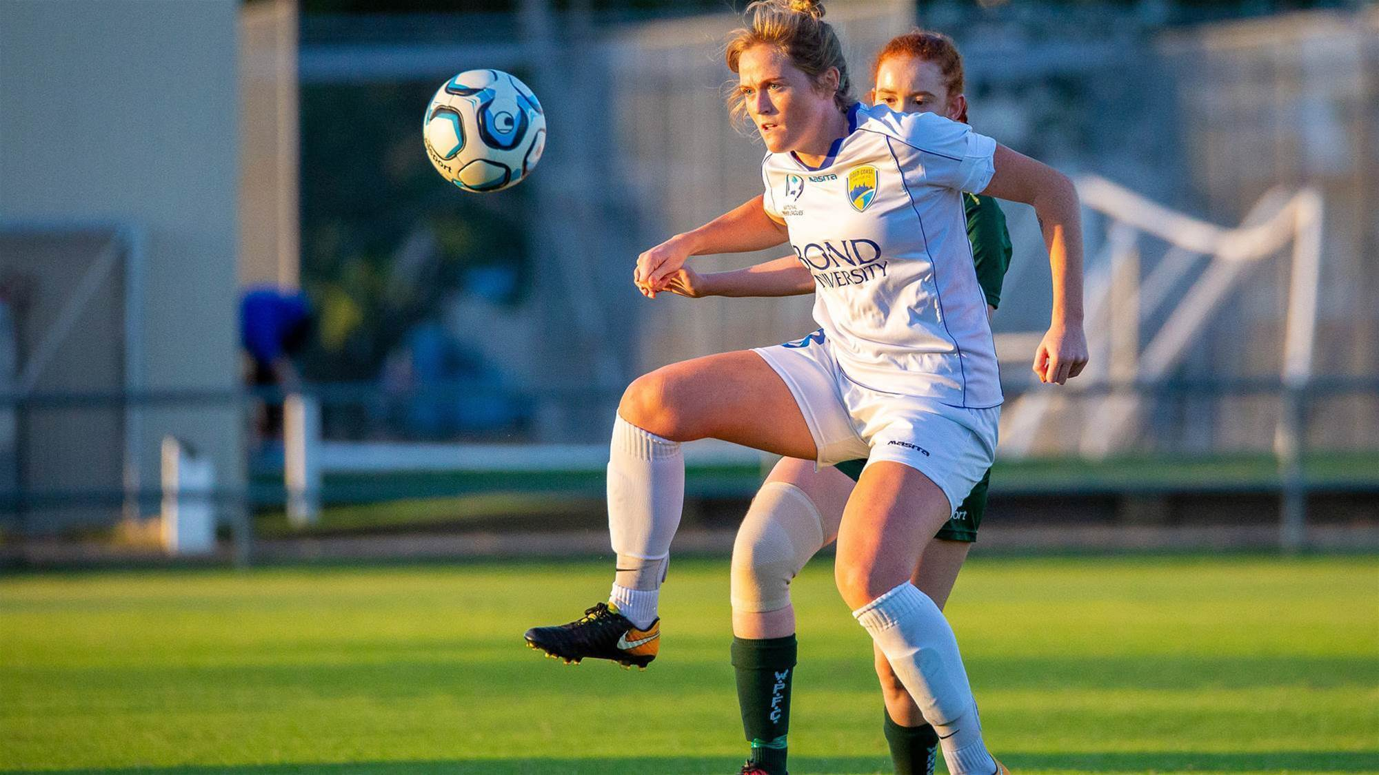 Fearless striker looking to W-League