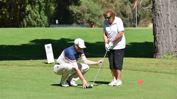 Blind Golfers to tee off at Rosebud for Vic Open