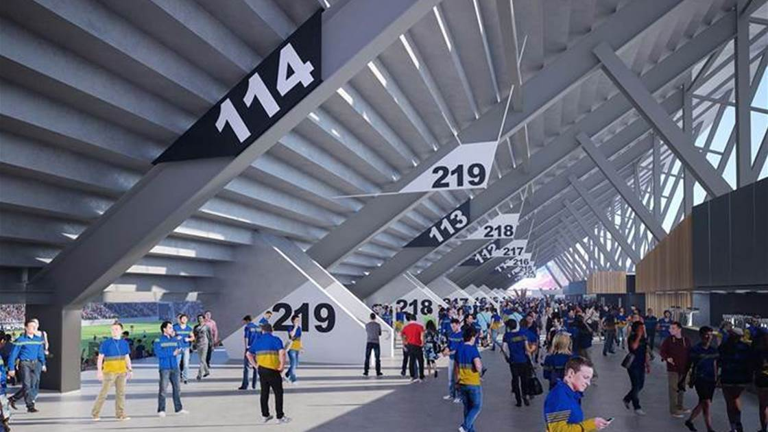 Wanderers release new vision of Western Sydney Stadium