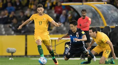 Giannou wasting no time with Socceroos