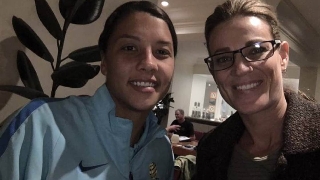 Australia's 'love' for Matildas 'the best thing about women's football'