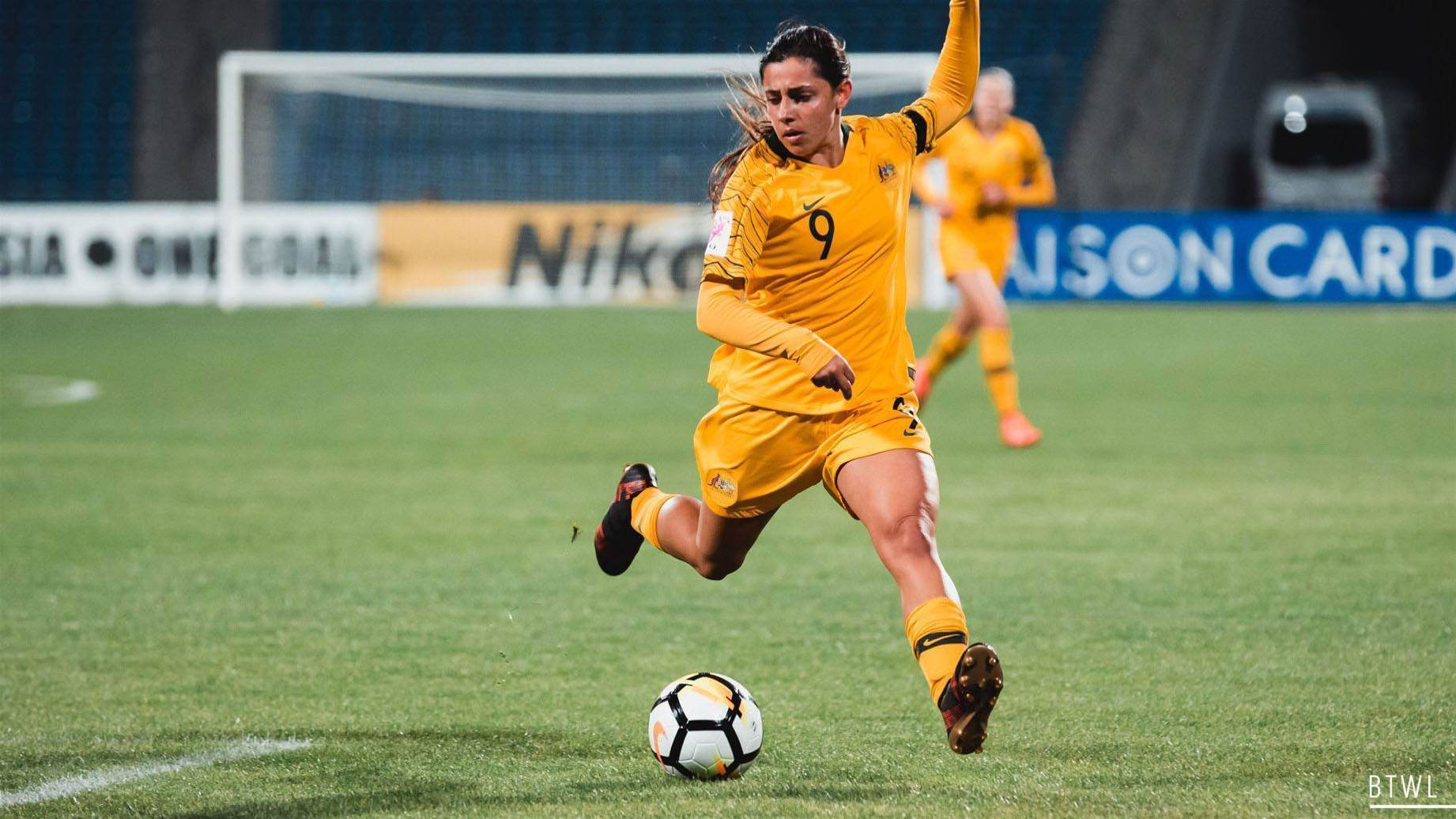 Chidiac hat-trick helps Young Matildas to victory