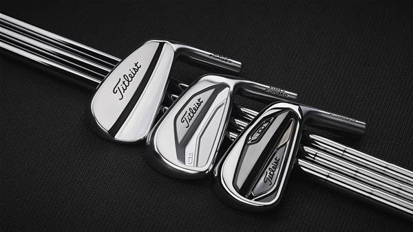 New Titleist irons arrive at Pebble Beach