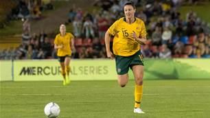 Unfinished business for Matildas' Emily Gielnik