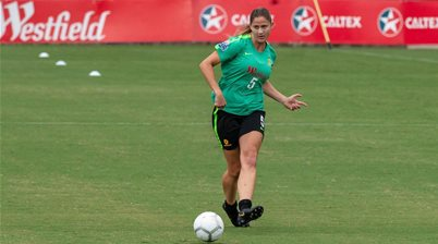 Matildas' tears for injured Laura