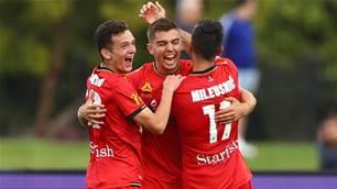 Reds pip Western Utd in goalfest
