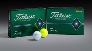 FIRST LOOK: The next generation Titleist AVX golf ball