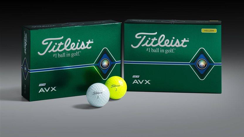FIRST LOOK: The next generation Titleist AVX golf ball