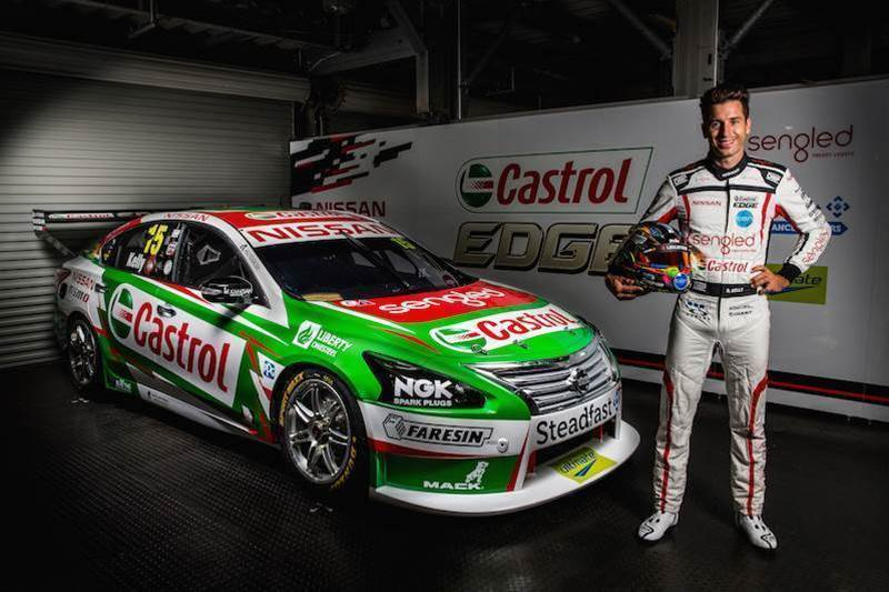 Castrol backs Kelly Nissan