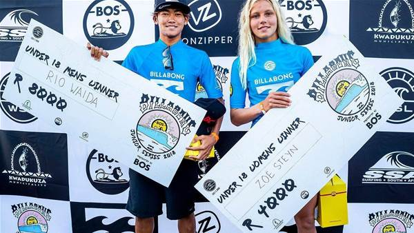 Outrage over pay disparity at Junior surfing competition