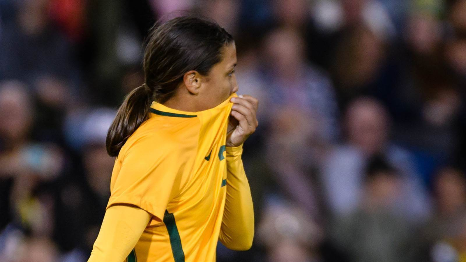 Sam Kerr: I'm not gagged by anyone...