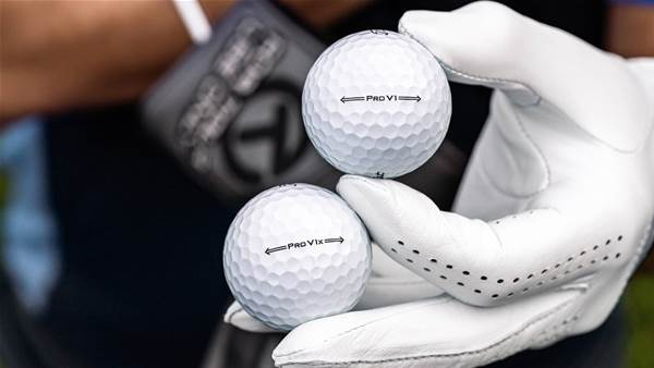 Next generation Titleist Pro V1 & Pro V1x balls debut on PGA Tour