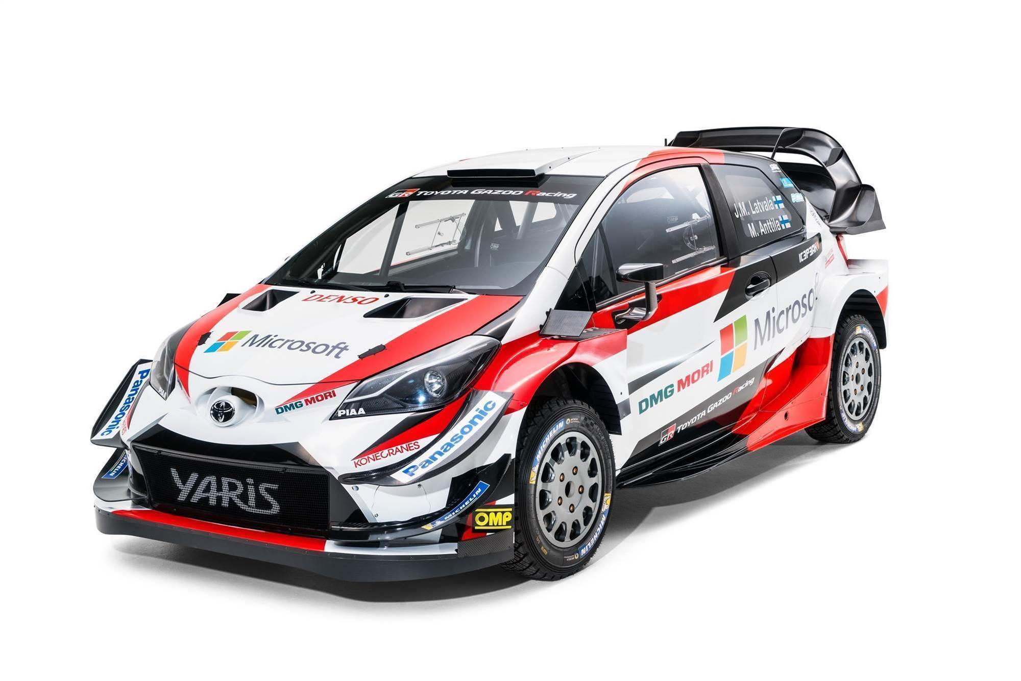 Toyota unveils new wrc contender