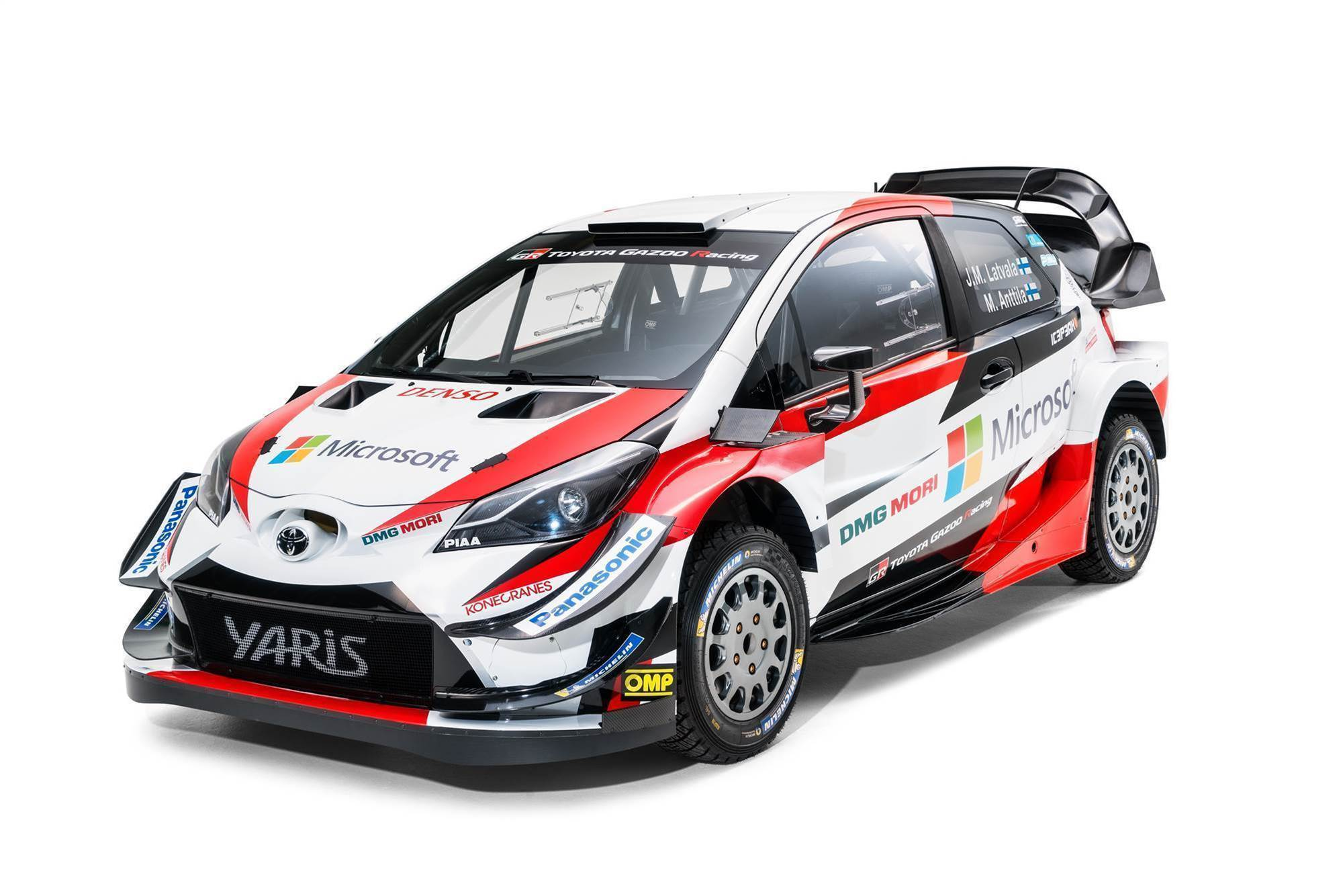 Toyota unveils new wrc contender