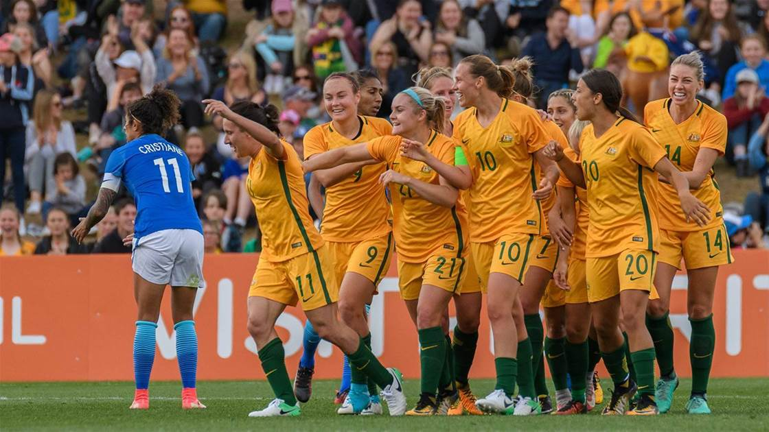 More Matildas under injury cloud for Brazil