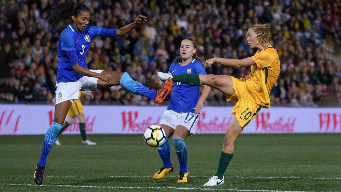 No backing down for Milicic's Matildas