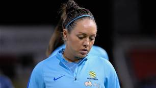 Injury forces Simon out of Matildas camp