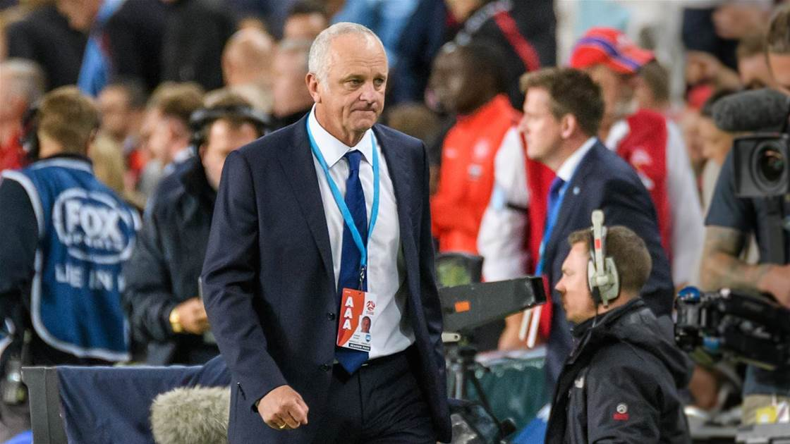 Arnie set to quit the Olyroos