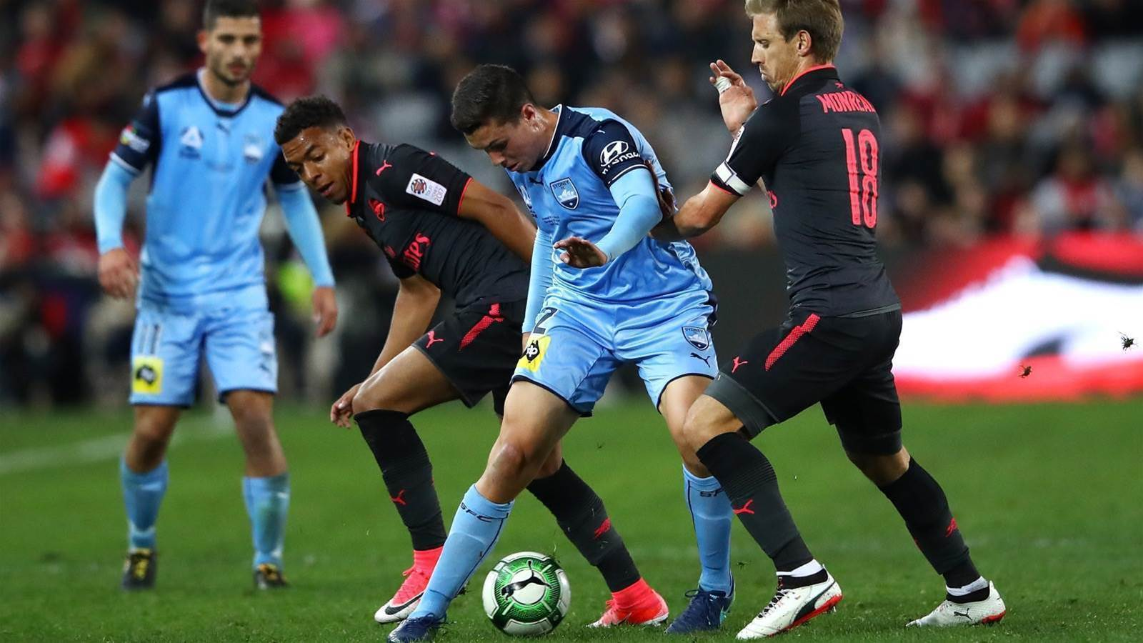 Aussie striker out for five months
