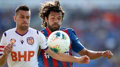 Newcastle stun Perth in home A-League win