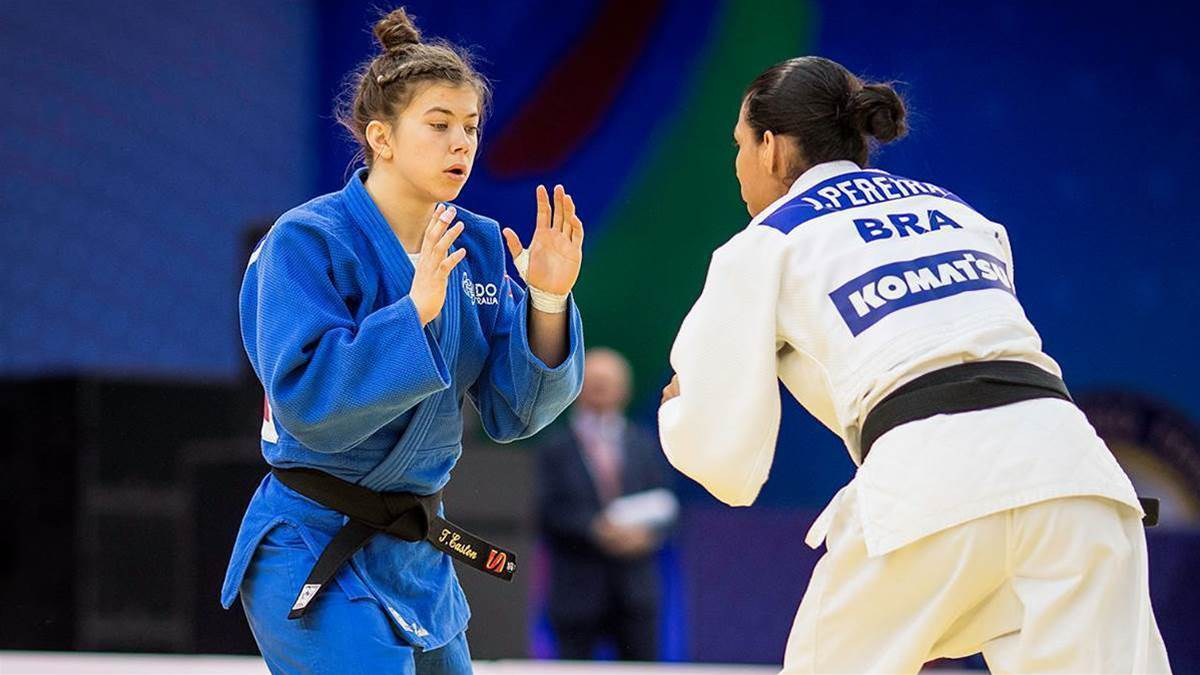 My First Club: Tinka Easton, Judo Champion