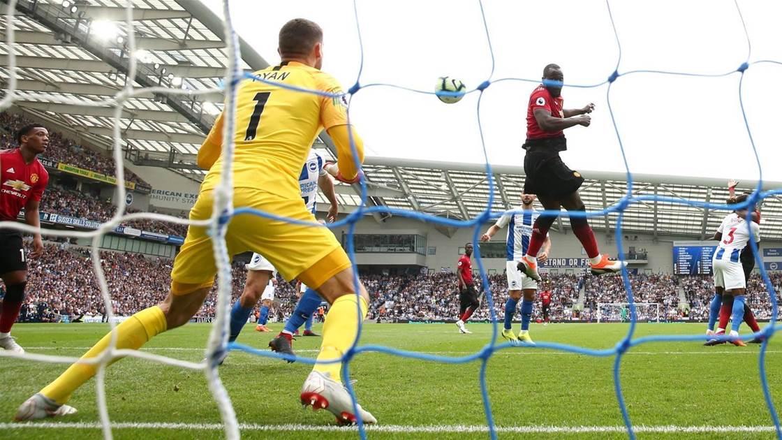 Ryan's Brighton beat Manchester United