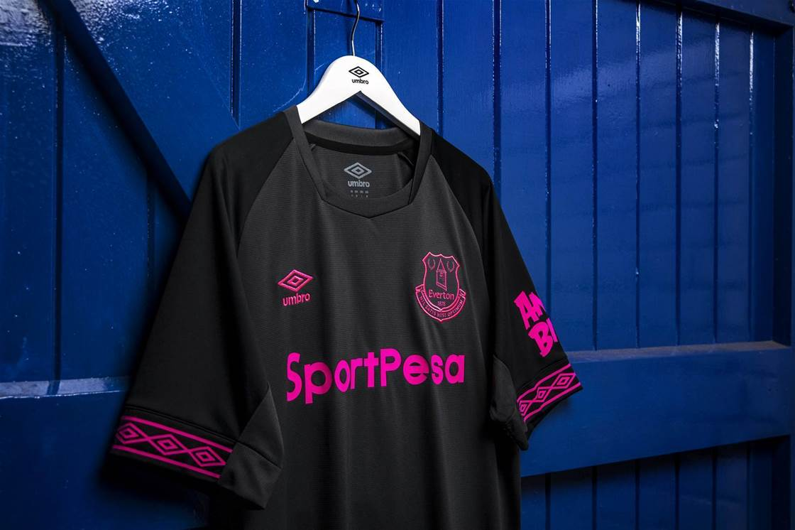 Everton's ladies launch club's 18/19 away strip