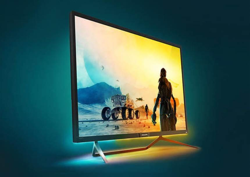 Philips' 436M6VBPAB is a big-screen gaming monitor with serious HDR credentials