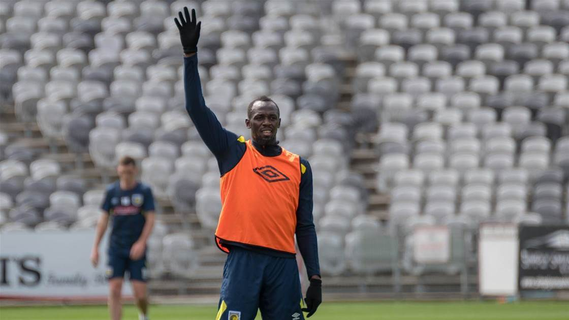 Bolt calls time on fledgling football 'career'