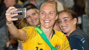 Matildas clock off ahead of World Cup slog