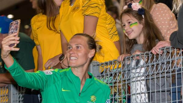 Official - Matildas midfielder joins City