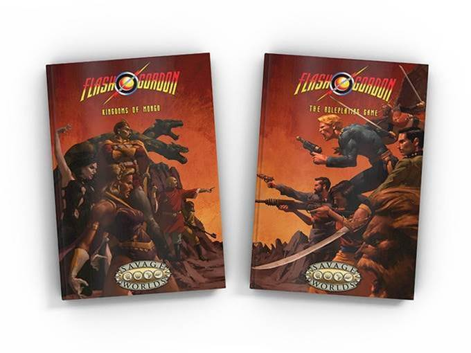 You have the weekend to back new Flash Gordon tabletop RPG!