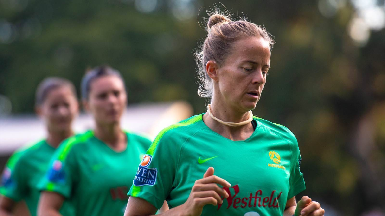Surf's up for Luik's Matildas mates
