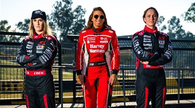 Driving trio changing the face of racing