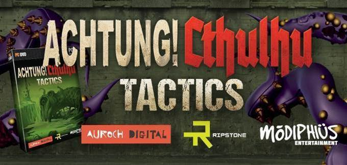 Acthung! Cthulhu Tactics coming to PC - and console - later this year