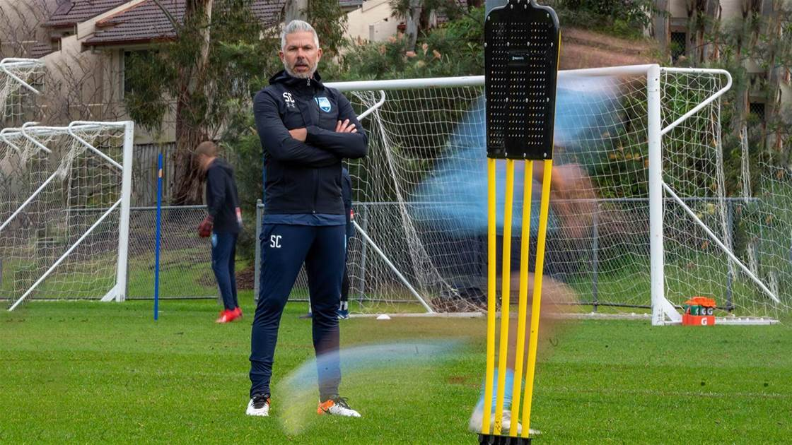 Corica's salary cap fears for Sydney FC
